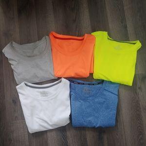 Bundle of 5 Athletic Shirts